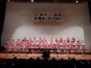 生活発表会① 鼓笛演奏(午前すみれ組)
