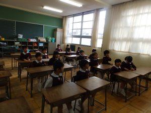 北小学校 交流会(年長組)①