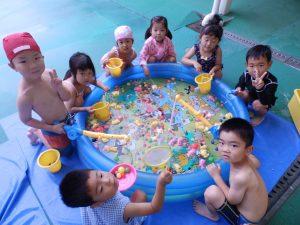 水遊び ① たんぽぽ組