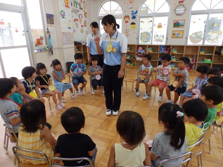 ホームクラスの様子 ⑪ (年中・年少組)