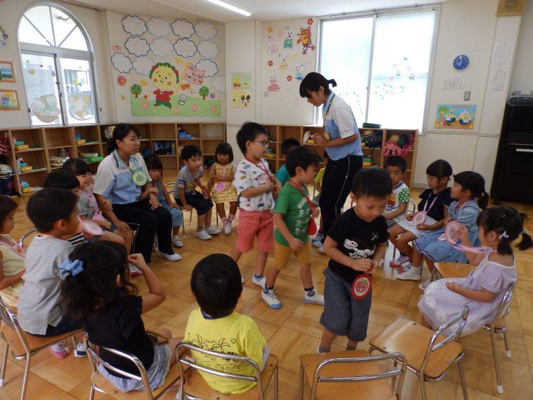 ホームクラスの様子 ⑫ (年中・年少組)