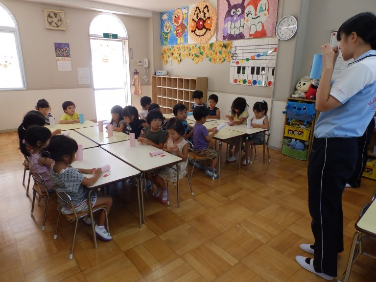 ホームクラスの様子 ⑫ 年中・年少組