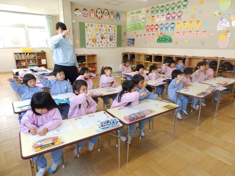 習字クラブ ⑯ 年少組