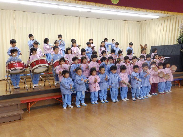 音楽クラブ ⑦ 年少組
