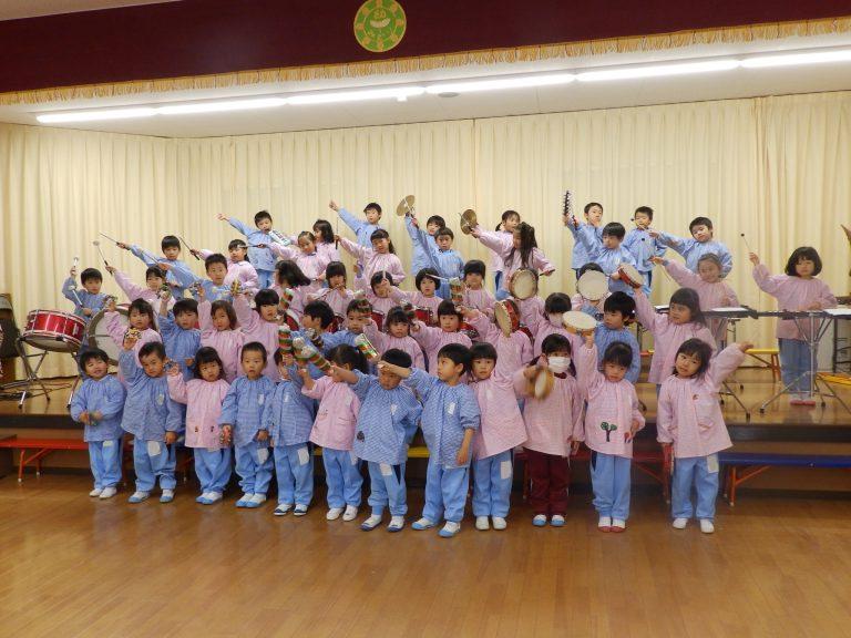 音楽クラブ ⑧ 年少組