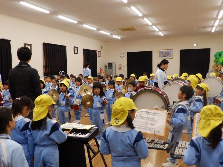 鼓笛指導 ⑪ すみれ・れんげ組