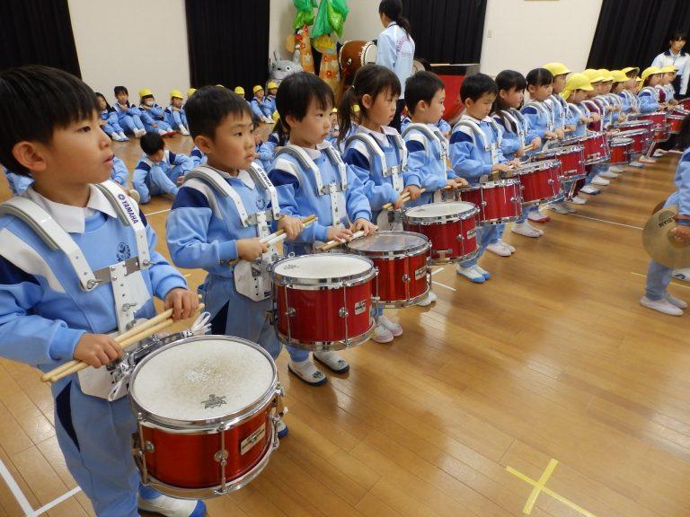 鼓笛指導 ⑬ すみれ・れんげ組