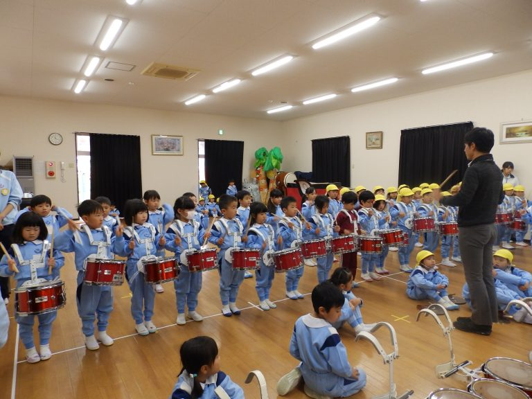 鼓笛指導 ⑥ ゆり・ひまわり組