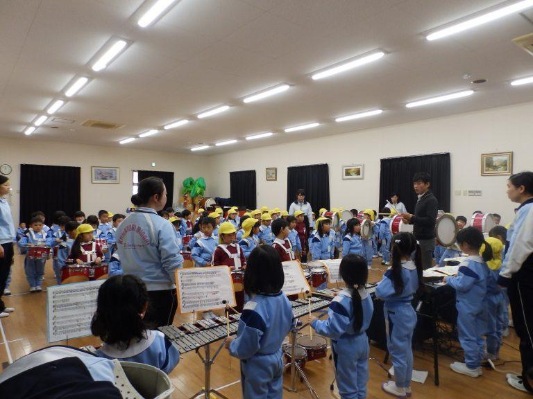 鼓笛指導 ⑧ すみれ・れんげ組