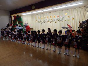 クリスマス会 ①