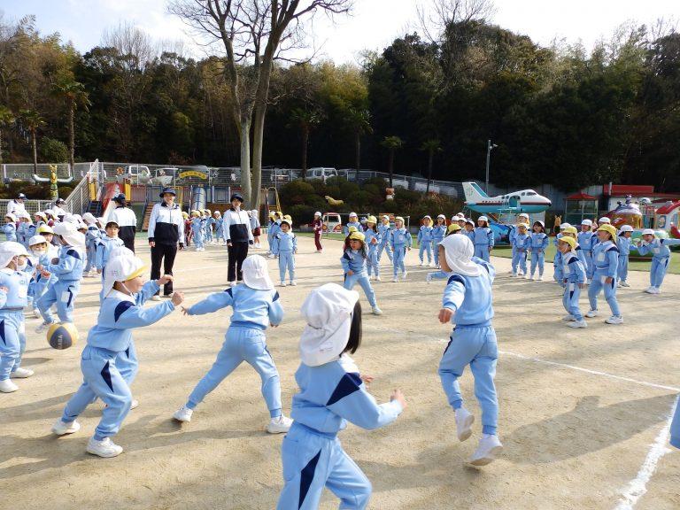 ドッジボール大会 ⑨ ゆり・ひまわり組