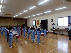 器楽指導 ① すみれ組