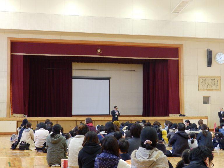 日根野小学校交流会 22