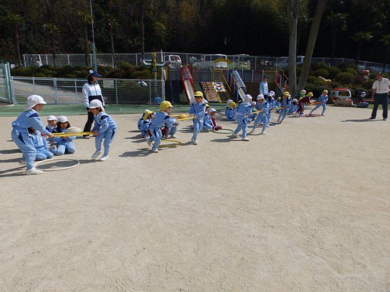 体育指導 ⑧ ひまわり組
