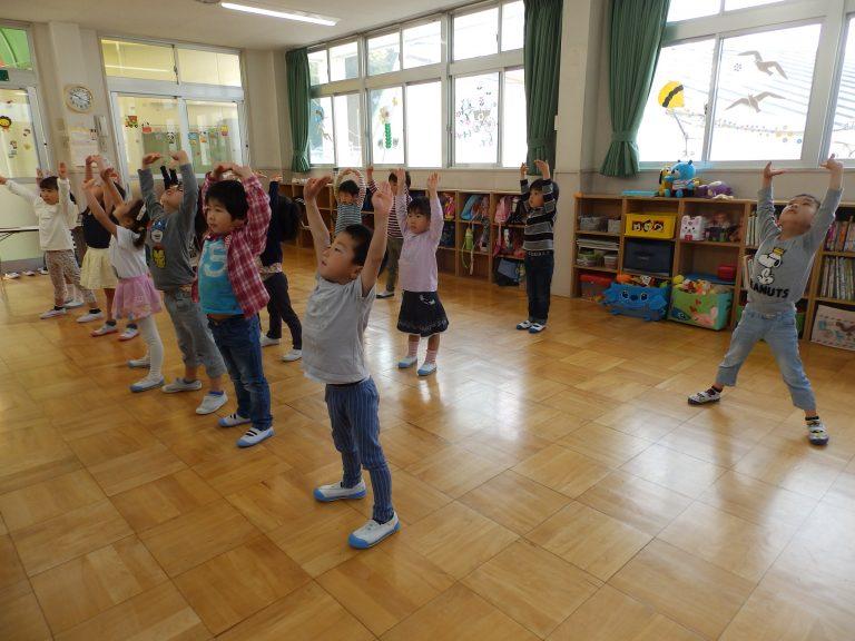 体操 ⑦ 年中・年少組