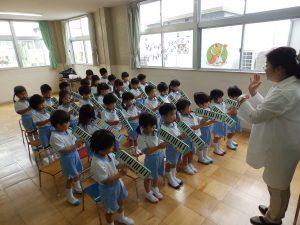 音楽指導 ① たけ組