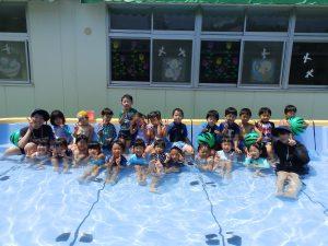 水遊び ① 年長組
