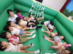 室内ゲーム ① 年中・年少組