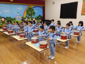 鼓笛指導 ① 年長組