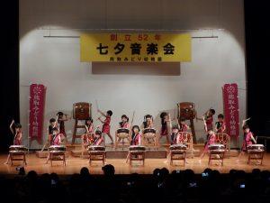 七夕音楽会 ① れんげ組