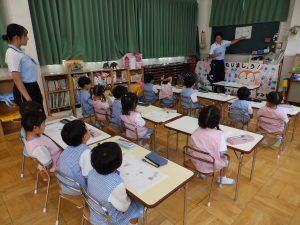 習字クラブ ① 年少組