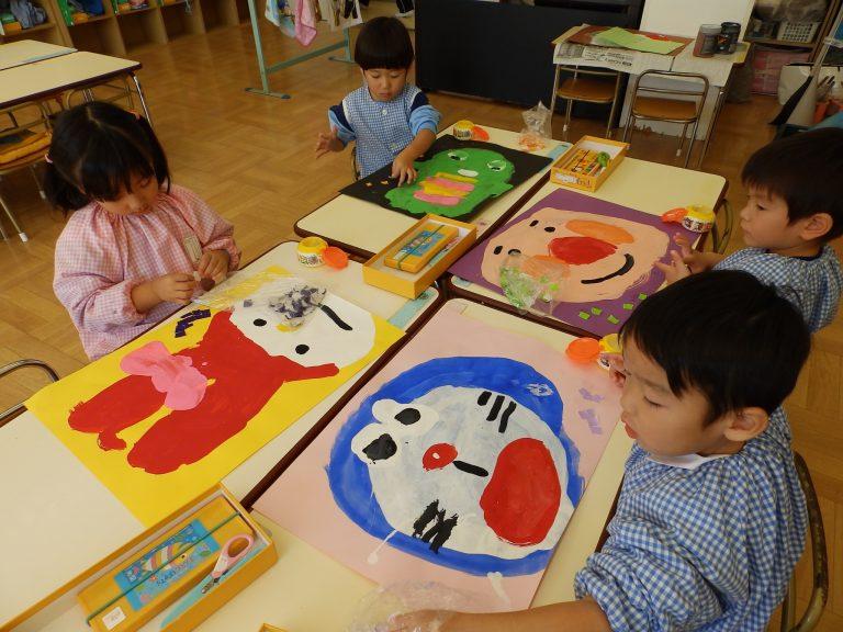 絵画クラブ ① 年少組