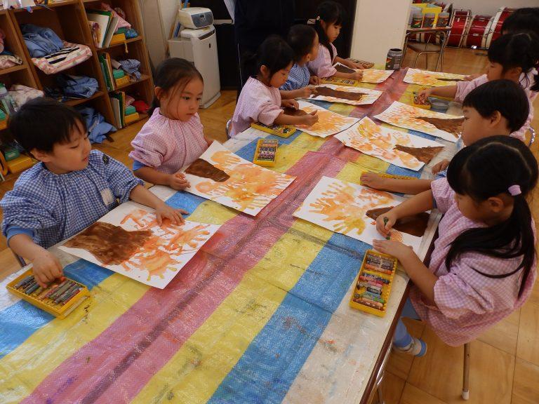 絵画クラブ ⑩ 年中組