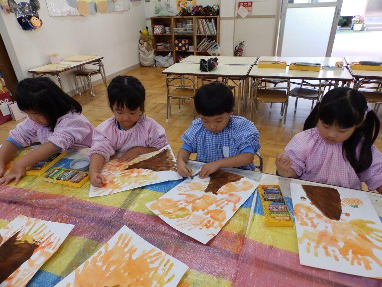 絵画クラブ ⑪ 年中組
