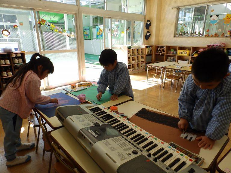 絵画クラブ ⑲ 年長組