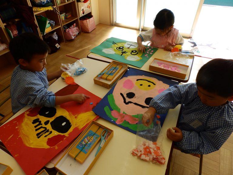 絵画クラブ ② 年少組