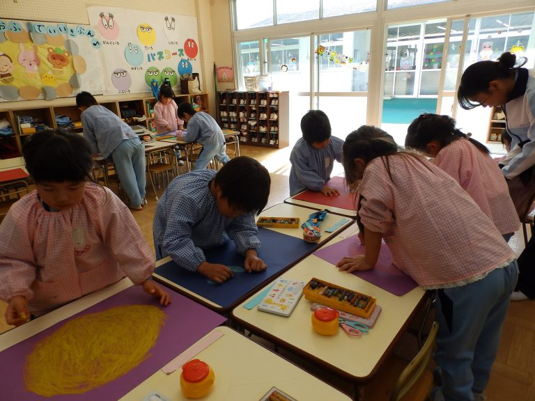 絵画クラブ ⑳ 年長組