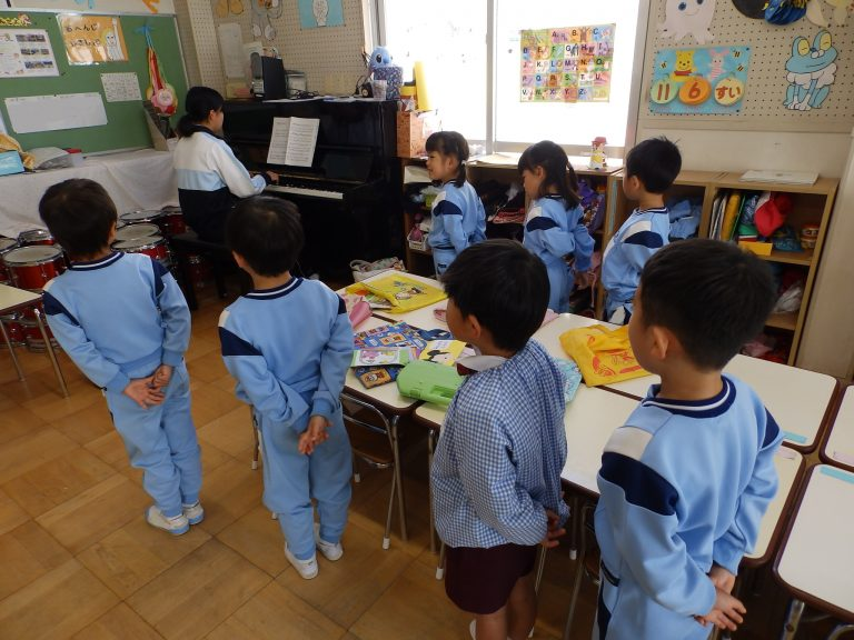 音楽クラブ 24 年長組