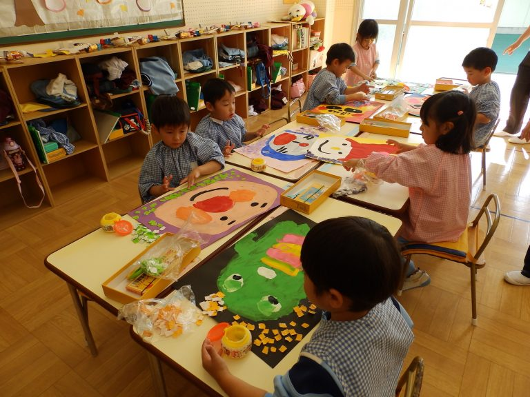 絵画クラブ ③ 年少組