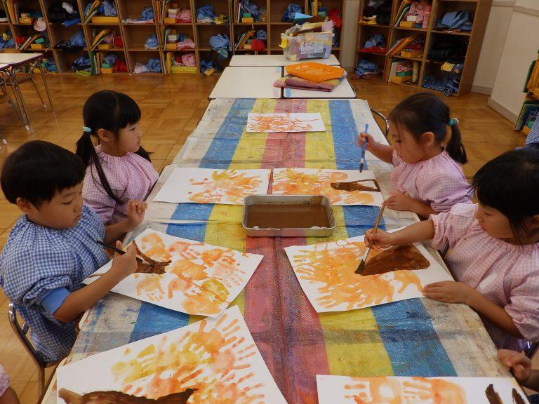 絵画クラブ ⑨ 年中組