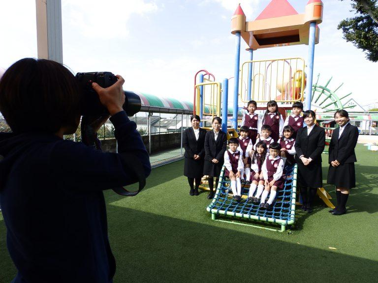 卒園写真 22 すみれ組
