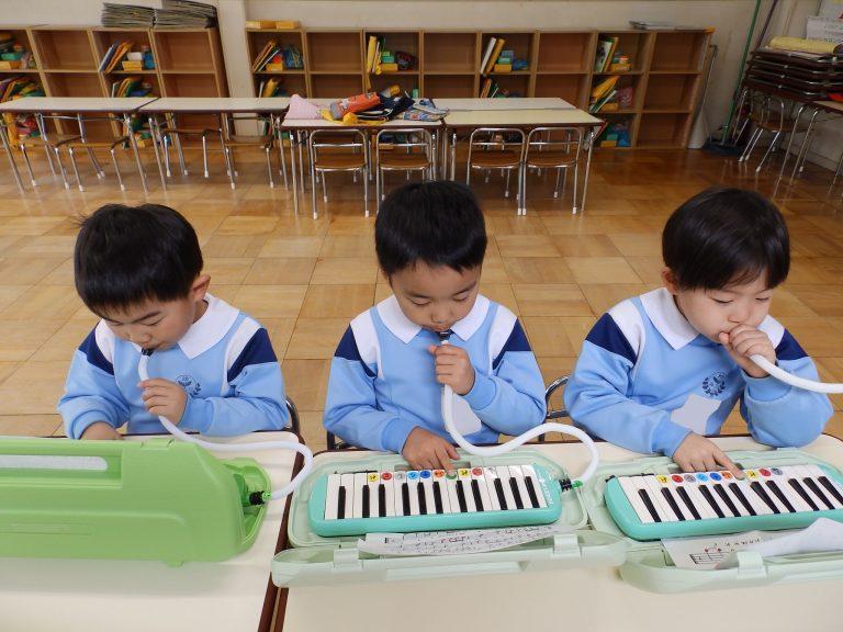 音楽クラブ ⑲ 年長組