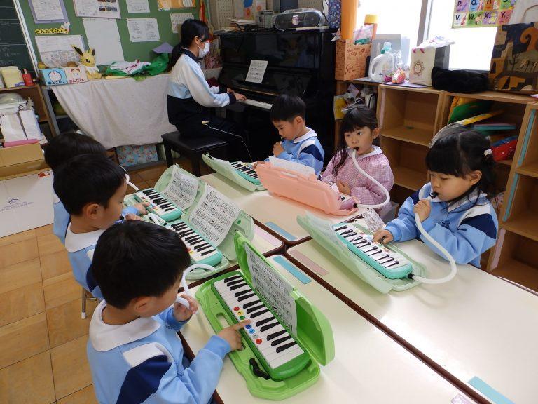 音楽クラブ 20 年長組