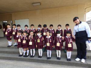 熊取町中央小学校交流会 ① 年長組