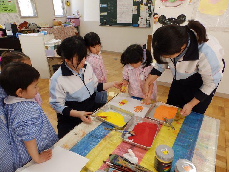 絵画クラブ ① 年中組