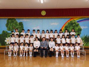 クラス写真 ① すみれ組