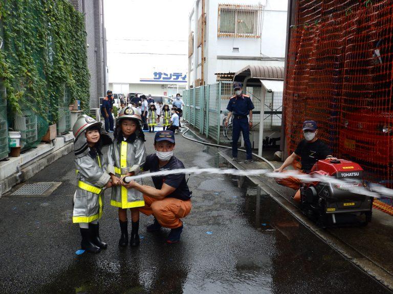 消防署見学 26 ひまわり組