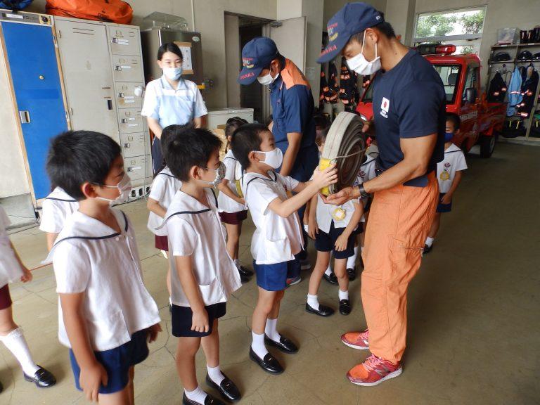 消防署見学 27 ひまわり組