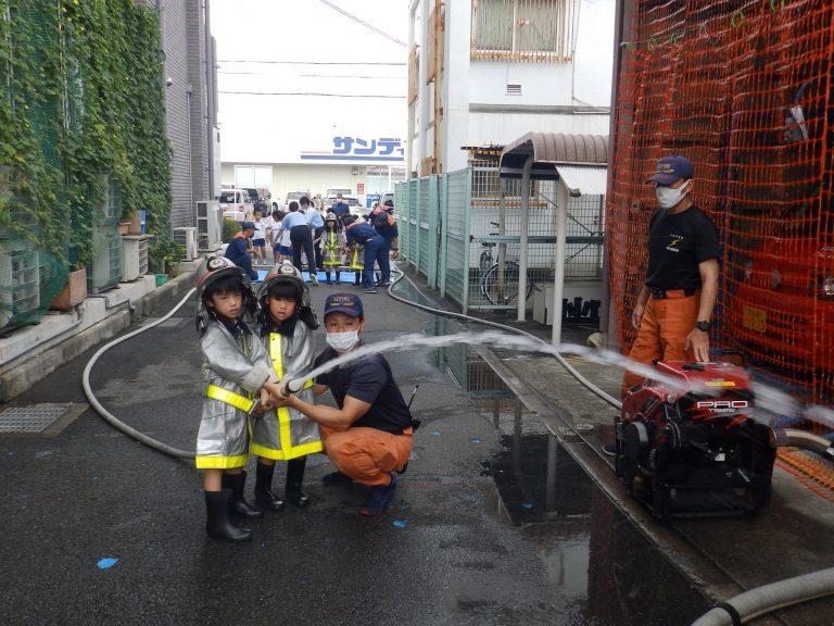 消防署見学 ⑦ すみれ組