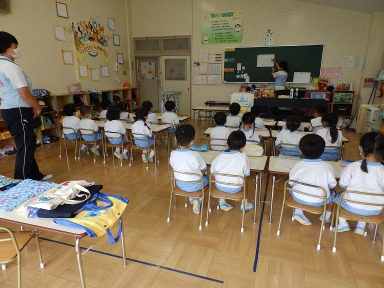 習字クラブ ⑭ 年少組
