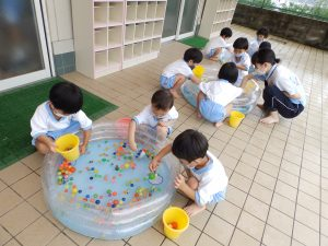 水遊び ① さくら組