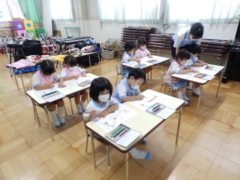 習字クラブ ㉘ 年少組