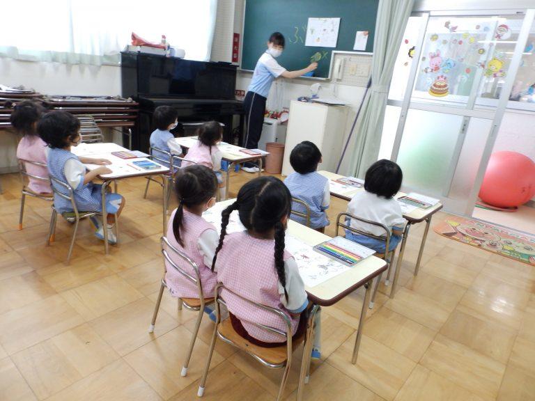 習字クラブ ㉙ 年少組