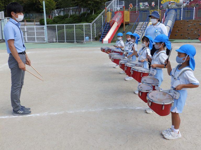 鼓笛指導 ⑧ 年長組