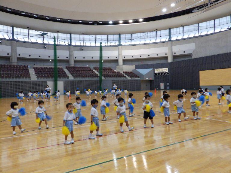 運動会予行練習 ① 年少組