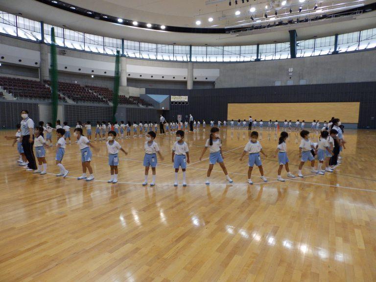 運動会予行練習 ⑩ 年長組